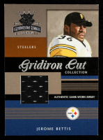 Jerome Bettis 2003 Gridiron Kings Gridiron Cut Collection #GC70 JSY #85/475 at PristineAuction.com