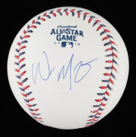 Whit Merrifield Signed 2019 All-Star Game Baseball (JSA COA) at PristineAuction.com