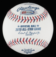 Whit Merrifield Signed 2019 All-Star Game Baseball (JSA COA) at PristineAuction.com