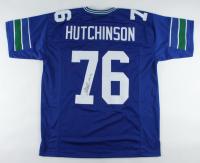 "Steve Hutchinson Signed Jersey Inscribed ""HOF '20"" (JSA COA) at PristineAuction.com"