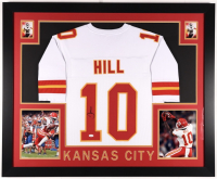 Tyreek Hill Signed 35x43 Custom Framed Jersey (JSA COA) at PristineAuction.com