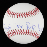 Keibert Ruiz Signed OML Baseball (JSA COA) (See Description) at PristineAuction.com