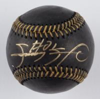 Sammy Sosa Signed OML Black Leather Baseball (Beckett COA) at PristineAuction.com