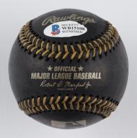 Sammy Sosa Signed OML Black Leather Baseball (Beckett COA) at PristineAuction.com