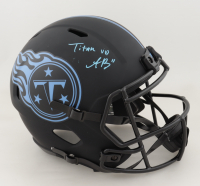 A. J. Brown Signed Titans Full-Size Eclipse Alternate Speed Helmet (JSA COA) at PristineAuction.com