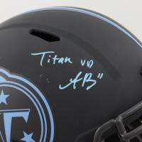 A. J. Brown Signed Titans Full-Size Eclipse Alternate Speed Helmet (JSA COA) at PristineAuction.com