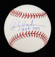 "Rickey Henderson Signed OML Baseball Inscribed ""HOF 2009"" (PSA COA) at PristineAuction.com"