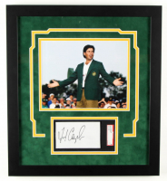 Fred Couples Signed 17x19 Custom Framed Cut Display (SGC Encapsulated) at PristineAuction.com