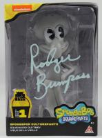 """Rodger Bumpass Signed """"SpongeBob SquarePants"""" Squidward Tentacles Old-Timey Spongepop Culture Pants Action Figure (PSA COA) (See Description) at PristineAuction.com"""