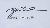 George W. Bush Signed 9/11 Ground Zero Speech Custom Framed Cut Display (PSA Encapsulated) at PristineAuction.com