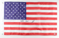 "Robert J. O'Neill Signed American Flag Inscribed ""Never Quit!"" (PSA COA) at PristineAuction.com"