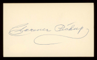 """Ty """"Clarence"""" Pickup Signed 3x5 Cut (JSA COA) at PristineAuction.com"""