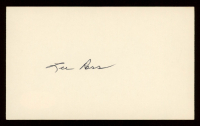 """Lee """"Buck"""" Ross Signed 3x5 Cut Inscribed """"The Baseball Boasters"""" (JSA COA) at PristineAuction.com"""
