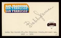 Bobby Murcer Signed 3x5 Cut (JSA Hologram) at PristineAuction.com