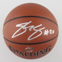Josh Jackson Signed NBA Basketball (JSA Hologram) at PristineAuction.com