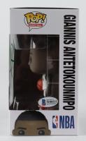 Giannis Antetokounmpo Signed Bucks #68 Funko Pop! Vinyl Figure (Beckett COA) at PristineAuction.com