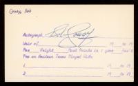 Bob Cousy Signed 3x5 Cut (PSA COA) at PristineAuction.com