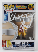 "Christopher Lloyd Signed ""Back To The Future"" #960 Doc 2015 Funko Pop! Vinyl Figure (PSA COA) (See Discription) at PristineAuction.com"