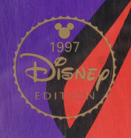 """Set of (2) LE 1997 Walt Disney 23.5x23.5 Lithographs with """"Winnie the Pooh"""" and """"Tigger"""" With Disney Seals at PristineAuction.com"""