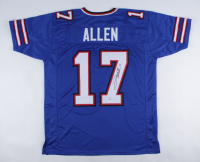 Josh Allen Signed Bills Jersey (Beckett COA) at PristineAuction.com