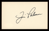 Jim Palmer Signed 3x5 Cut (JSA COA) at PristineAuction.com