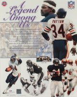 """Walter Payton Signed Bears """"A Legend Among Us"""" 16x20 Poster (PSA LOA) at PristineAuction.com"""