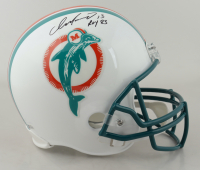 "Dan Marino Signed Dolphins Full-Size Helmet Inscribed ""ROY 83"" (Beckett COA) at PristineAuction.com"
