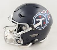 Chris Johnson Signed Titans Full-Size Authentic On-Field SpeedFlex Helmet (Beckett COA) at PristineAuction.com