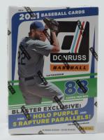 2021 Panini Donruss Baseball Blaster Box with (11) Packs at PristineAuction.com
