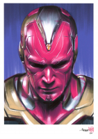 Thang Nguyen - Vision - Marvel Comics - 8x12 Signed Limited Edition Giclee on Fine Art Paper #/50 at PristineAuction.com