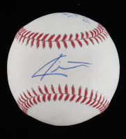 "Carter Kieboom Signed OML Baseball Inscribed ""2016 1st Round Pick"" (JSA COA) at PristineAuction.com"