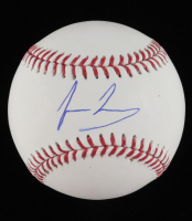 Jesus Luzardo Signed OML Baseball (JSA COA) at PristineAuction.com