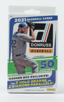 2021 Panini Donruss Baseball Hanger Box with (50) Cards at PristineAuction.com