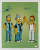 Tommy Chong & Cheech Marin Signed 16x20 Photo (JSA COA) (See Description) at PristineAuction.com