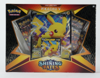 Pokemon TCG: Shining Fates PIKACHU V Box with (4) Booster Packs at PristineAuction.com