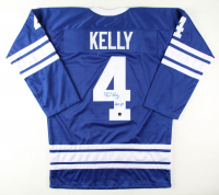 """Red Kelly Signed Jersey Inscribed """"HOF-69"""" (COJO COA) at PristineAuction.com"""