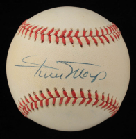Willie Mays Signed ONL Baseball (Beckett LOA) (See Description) at PristineAuction.com