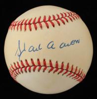 Hank Aaron Signed ONL Baseball (Beckett LOA) (See Description) at PristineAuction.com