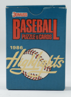 1986 Donruss Highlights Complete Set of (56) Baseball Cards (See Description) at PristineAuction.com