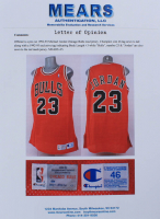 Michael Jordan Game-Used Bulls Jersey (MEARS LOA) (See Description) at PristineAuction.com