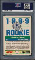 Troy Aikman 1989 Score #270 RC (PSA 10) at PristineAuction.com