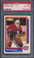 Patrick Roy 1986-87 O-Pee-Chee #53 RC (PSA 8) at PristineAuction.com
