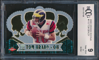 Tom Brady 2000 Crown Royale #110 RC (BCCG 9) at PristineAuction.com