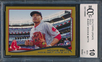 Mookie Betts 2014 Topps Update Gold #US301 #1342 / 2014 (BCCG 10) at PristineAuction.com