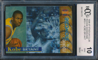 Kobe Bryant 1996-97 Stadium Club Rookie Showcase #RS11 (BCCG 10) at PristineAuction.com