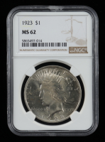 1923 Peace Silver Dollar (NGC MS62) at PristineAuction.com