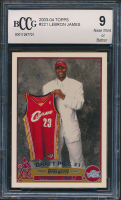 LeBron James 2003-04 Topps #221 RC (BCCG 9) at PristineAuction.com