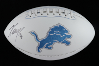 Kenny Golladay Signed Lions Logo Football (JSA COA) at PristineAuction.com