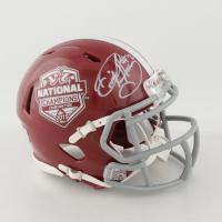Derrick Henry Signed Alabama Crimson Tide Speed Mini Helmet (Radtke COA) at PristineAuction.com
