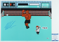 """Mike Tyson Signed """"Punch-Out!!!"""" 16x20 Photo (Beckett COA) at PristineAuction.com"""